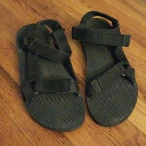 Teva Black Mens Sandals